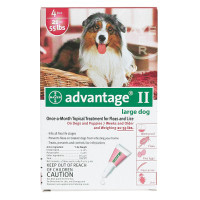 Advantage Flea Control for Dogs and Puppies 21-55 lbs