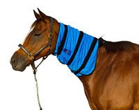 Equine cooling neck wrap