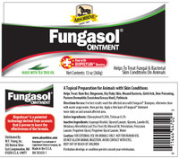 Fungasol Ointment Label