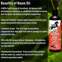 100% Cold Pressed Certified Organic Neem Oil benefits
