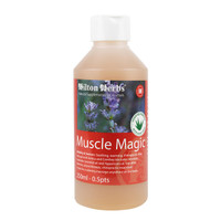 Muscle Magic for a relaxing massage