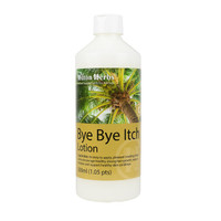 Bye Bye Itch lotion is easy to apply and smells great too