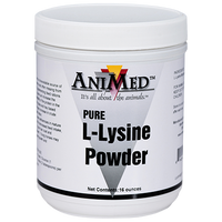 Animed Lysine powder 16 ounce jar