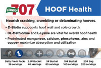 Nourish and improve cracking, crumbling or delaminating hooves.