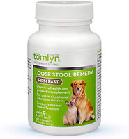 Tomlyn Firm Fast Loose Stool Remedy Supplement Tablet for Dogs and Cats
