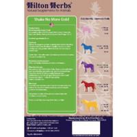 Hilton Herbs Shake No More Gold Contains: 1:3 tinctures