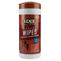 Lexol Leather Conditioner Quick Wipes, 25 Count