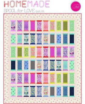 Tula Pink Homemade Spools Quilt Kit