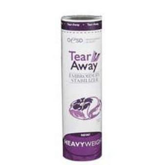 """Heavy Weight Tear Away 10"""" x 10 yrd"""