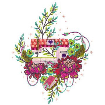 HomeMade By Tula Pink USB Embroidery Designs