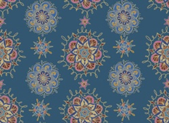 Bohemian Dreamin' BD2141-20 Blue Medallion