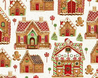 Natural Gold 57718-20G Gingerbread House