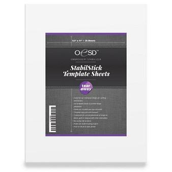 StabilStick Template Sheets