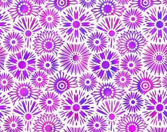 Unusual Garden 2-Bloom Purple/White