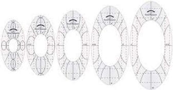 Good Measure Every Oval Set of 3 Amanda Murphy Rulers