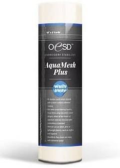"Aqua Mesh Wash Away Stabilizer 10""x10 yards"