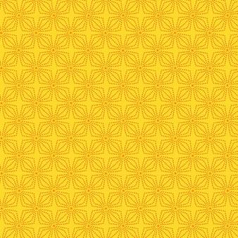 Geo Bloom Marigold (Color Theory Basic)