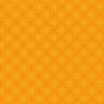Geo Bloom Orange (Color Theory Basic) 09806-28