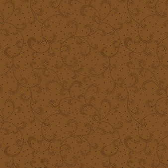 Swirling Scroll Brown Oak (Color Theory Basic) 09805-70