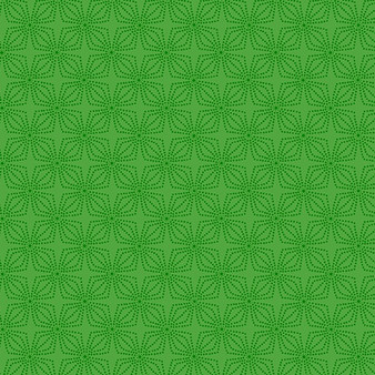 Geo Bloom Green (Color Theory Basic) 09806-44