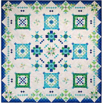Sea Island Block of the Month from Island Batik