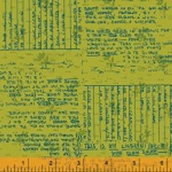 Norma Rose Recipe Cards Green 52012-3