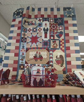 Patches of Americana Quilt Kit