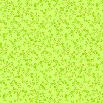 Flowery Vines Lime 09809-40