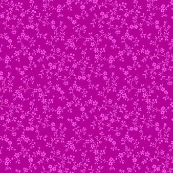 Flowery Vines Fuchsia 09809-26