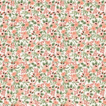 Garden Party - Rosa - Rose Fabric RP305-RO6