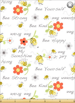 """Sweet Bees """"Bee Kind"""" by Susybee White"""