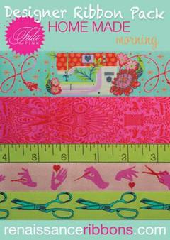 Tula Pink Ribbon Pack Homemade - Morning