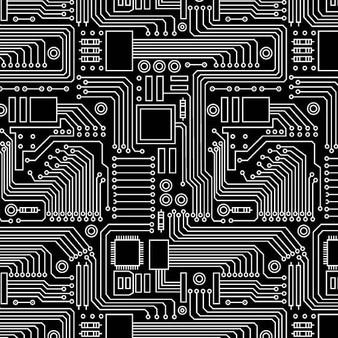 Circuit Board - Black