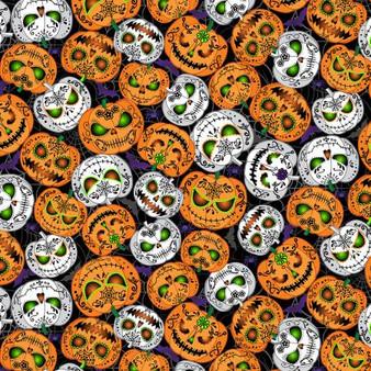 Scary Pumpkins Glow Black WICKED-CG8651