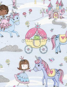 Princesses and Unicorns Blue KIDZ-CM3685