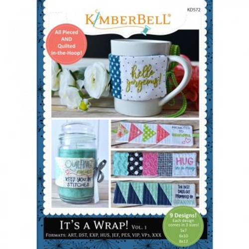 It's A Wrap Volume 1 Machine Embroidery CD