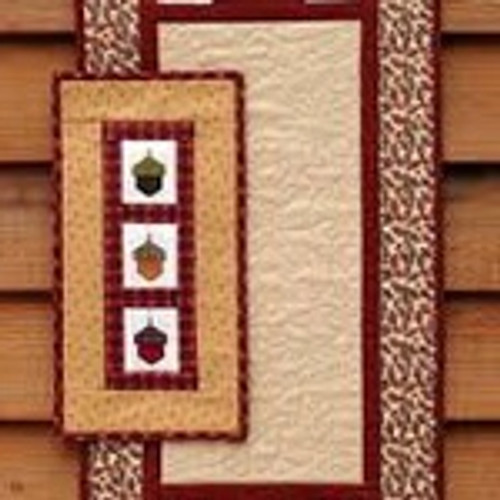 Acorn Wall Hanging MH Designs