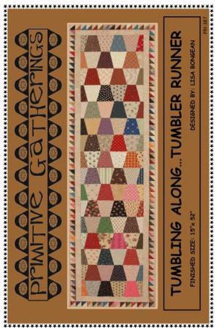 Tumbling Along Pattern/Ruler