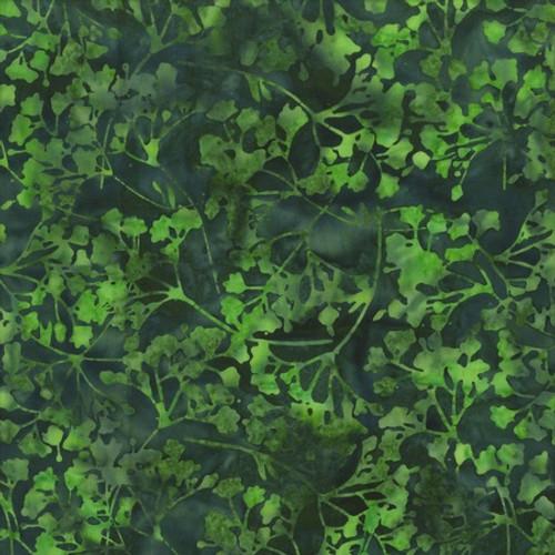 Green Batik Wide Back