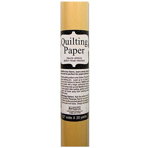 Golden Threads Quilting Paper