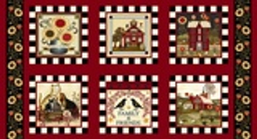 Count Your Blessings Blocks Panel