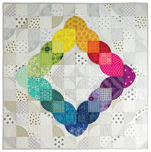 Everything you need to make the Color Love Quilt from the Mini Wonderful Curves Book.