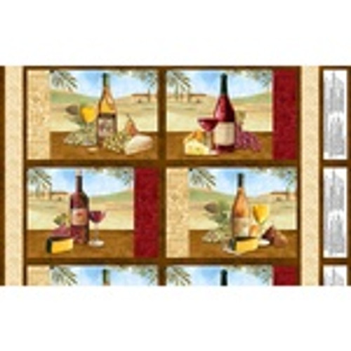 Multi Tuscan Delight Placemat Panels
