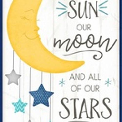 Sun Moon and Stars Panel
