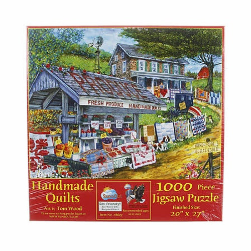 Handmade Quilts 1000 pc Puzzle