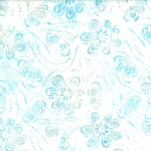 Batik 22233 114 Lt. Blue Floral