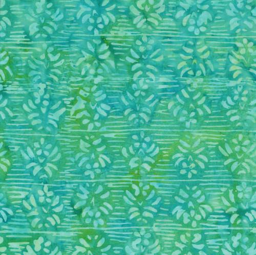 Banks-332 Green/Teal Batik