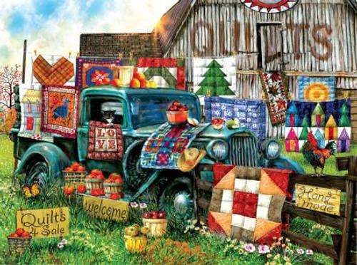 Quilts for Sale, 1000pc Puzzle