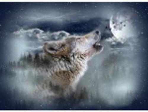 Hoffman Wolf Moonstruck Panel