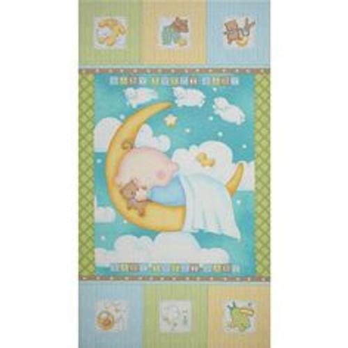 Sweet Pea Baby Moon Panel